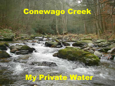 Conewago Creek Pennsylvania Privately Managed by Gene Macri